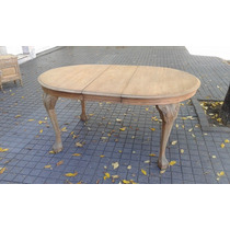 Mesa Chippendale Ingles, Muebles Antiguos, Roble