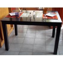 Mesas De Comedor En Paraiso 120x80x80 Laqueado