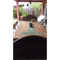 Mesa De Comedor O Galería De Madera
