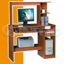 Escritorio Mesa Pc Computacion Con Alzada Y Bandeja Fiplasto