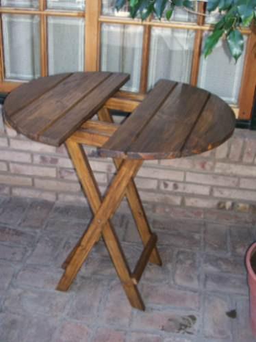 Mesas mesa redonda plegable de madera somos fabricante - Mesas de madera plegables para exterior ...