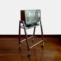 Mesa Retro Para Restaurar + Televisor Zenith 14