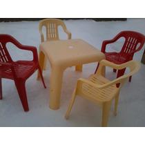Mesa-mesita Y Sillas-sillitas Infantiles - Plástico - Niños