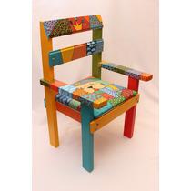 Mesa y sillas de madera para ni os pintadas oferta - Mesas y sillas para ninos ...