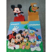 Mesa Infantil De Mickey Y Minnie