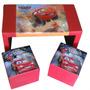 Mesa +2 Puff Niños Simil Ecocuero Juego / Open-toys Avell