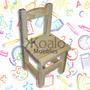Silla De Niño Reforzada - Koalo Muebles