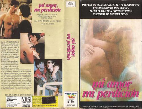 Mi Amor Mi Perdicion Vhs (1987) Thriller Erotico