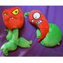 Peluche Plantas Vs Zombies - 30cm X 2 Unidades