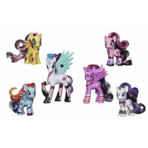 My Little Pony Ponymania Pack X6 Friendship Is Magic Hasbro