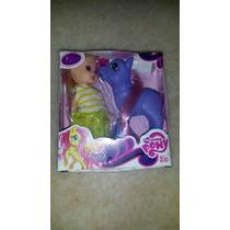 Mi Pequeño Pony Con Muñequita En Cajita.