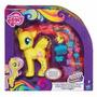 My Little Pony Fluttershy Mechones A La Moda Rainbow Power H