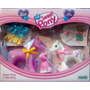 The Sweet Pony Super Pony Y Little Pony Con Bebe Y Accesorio