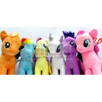 My Little Pony Peluches X6 28cm Pequeño Pony Original Hasbro