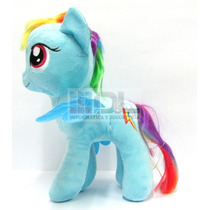 Peluche My Little Pony Rainbow Dash Grande 28cm Orig Hasbro