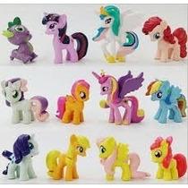 My Little Pony Lote De 12 Muñecos 4cm De Alto Delicias3