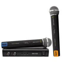 Novik Unk400 Microfono Inalambrico Uhf Doble De Mano Pro