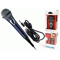 Microfono Dinamico Cable 3mts Philips Sbc-md150 Ramos Mejia