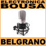 Microfono Condenser Behringer B-1 Ideal Estudio De Grabación