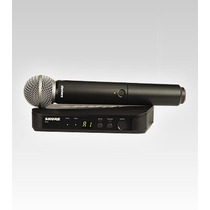 Microfono Inalambrico Shure Blx24ar/sm58