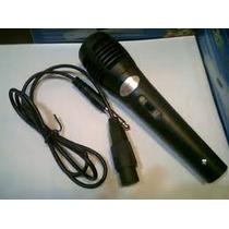Microfono Dynamic - Profesional - Karaoke - Multiples Usos