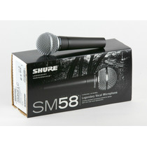 Shure Sm58-lc - Micrófono Dinamico - Factura - Garantía