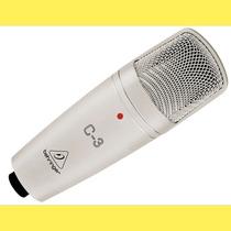 Behringer C-3 Microfono Condenser Grabación Diafragma Doble