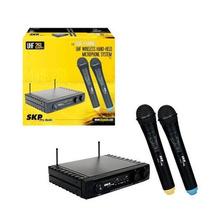 Microfonos Inalambricos Skp ( Doble ) Señal Uhf261 80 Mts Ga