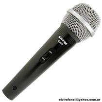 Microfono Dinamico Shure C606 Voces Instrumentos Nuevo