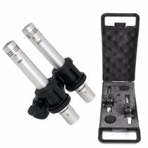 Par De Microfonos Samson C02 Pencil Condenser Overheads X2