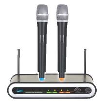 Microfono Inalambrico Doble De Mano - E-sound - Novalux