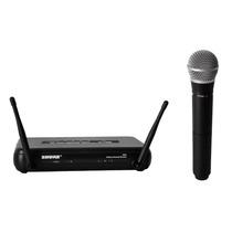 Microfono Inalambrico Mano Pro Uhf Shure Svx24/pg58-p12 Gtia