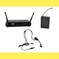 Micrófono Shure Inalámbrico Uhf Vincha Headset - Svx14/pg30