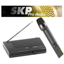 Microfono Inalambrico Skp Vhf 655 Tecnomixmerlo