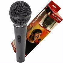 Micrófono Samson R31s Ideal Minicomponente Karaoke