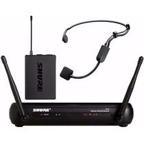 Microfono Shure Svx14/pg30 Sistema Inalámbrico De Vincha