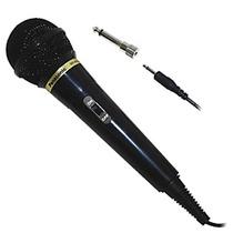 Microfono Panasonic Rp-vk21 Dinamico Karaoke 3mt Gtia Ofic