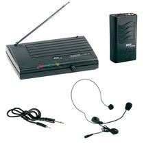 Microfono Inalambrico Skp Vhf 855 Vincha Oferta Imperdible