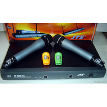 Jts Us802d-mh900 | 2 Micrófonos Inalambricos Profesional Uhf