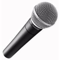 Micrófono Shure Sm58 Vocal Dinámico Cardioide Voces Envios!
