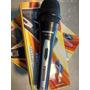 Micrófono Dinámico Profesional Con Cable Dj Karaoke