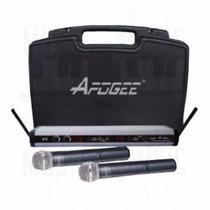 Microfono Inalambrico Apogee U6 2 De Mano Uhf Con Transmisor