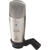 Microfono Condenser Usb Behringer C-1u