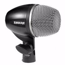 Shure Pg52 Micrófono Dinámico Cardioide Bombo Batería Cable