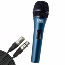 Microfono Dinamico Moon M840 Con Cable Canon