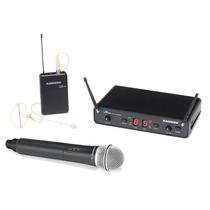 Microfono Inalambrico De Mano + De Vincha Samson Pro Combo