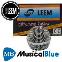 Repuesto Microfono Leem Bocha Sm58 Rejilla Metalca Reforzada