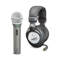 Pack De Grabacion Samson Q2u - Mic Q2 Usb Y Xlr + Auricular