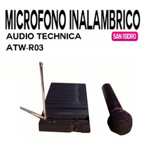 Microfono Inalambrico Audio Technica Atw-r03