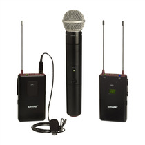 Shure Fp125/83sm58 Sistema Microfono Mano+corbatero Sm58/wl